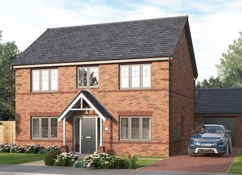 """Thumbnail 4 bed detached house for sale in """"The Lathbury"""" at Skinner Street, Creswell, Worksop"""