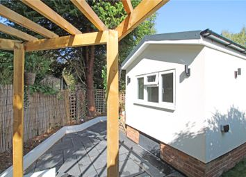 Thumbnail 1 bed mobile/park home for sale in Fangrove Park, Lyne, Surrey