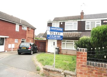 Thumbnail 3 bed semi-detached house to rent in Uttoxeter Close, Leicester