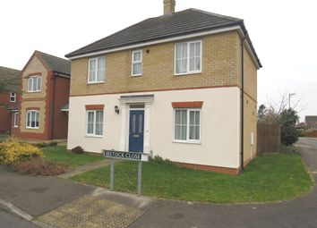 Thumbnail 3 bed detached house for sale in Ibstock Close, Tydd St. Mary, Wisbech