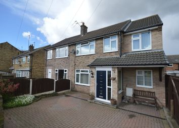 Thumbnail 4 bed semi-detached house for sale in Knoll Park, East Ardsley, Wakefield