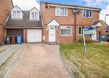 Thumbnail 3 bed semi-detached house for sale in Peckforten Close, Castle Grange, Hull, East Yorkshire