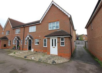 Thumbnail End terrace house for sale in Malkin Drive, Church Langley, Harlow
