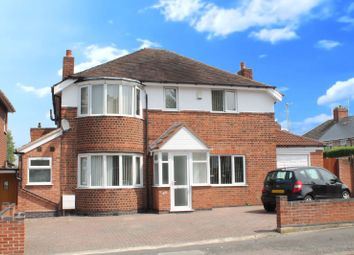 Thumbnail 6 bed detached house for sale in Evington Lane, Evington, Leicester