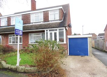 Thumbnail 3 bedroom semi-detached house for sale in Priestland Avenue, Spondon, Derby