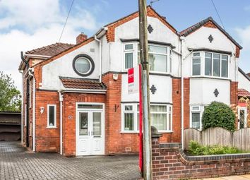 Thumbnail 3 bed semi-detached house for sale in Inchfield Road, Moston, Manchester, Greater Manchester