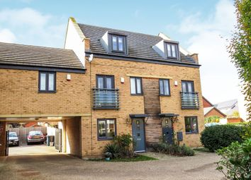 Thumbnail 3 bedroom semi-detached house for sale in Bayleaf Avenue, Hampton Vale, Peterborough