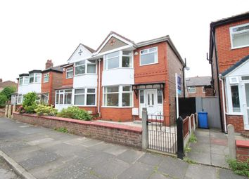 Thumbnail 3 bed semi-detached house to rent in Radstock Road, Stretford, Manchester