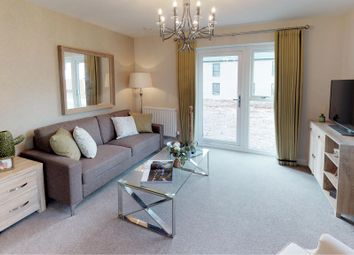 Thumbnail 2 bed flat for sale in Braunton Crescent, Llanrumney, Cardiff