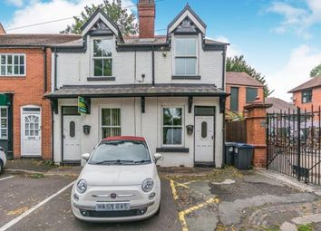 Thumbnail 1 bed end terrace house for sale in The Green, Kings Norton, Birmingham, West Midlands