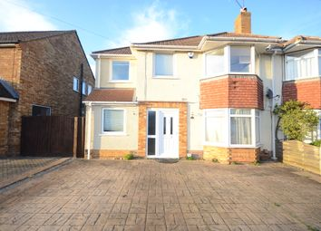 Thumbnail 4 bed semi-detached house to rent in Haddon Drive, Woodley, Reading