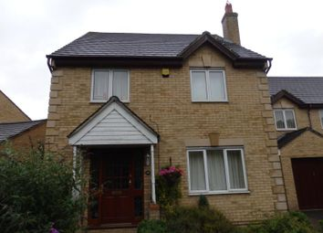 Thumbnail 4 bed detached house to rent in Asgard Drive, Bedford
