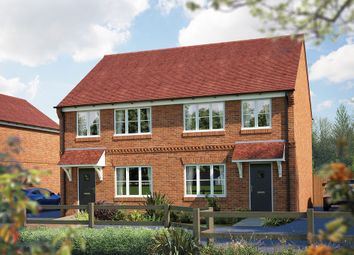 "Thumbnail 3 bed semi-detached house for sale in ""The Cranham"" at Brook Street, Aston Clinton, Aylesbury"