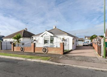 Thumbnail 3 bed detached bungalow for sale in Queens Road, Lancing, West Sussex