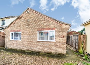 Thumbnail 3 bedroom detached bungalow for sale in The Street, Holywell Row, Bury St. Edmunds
