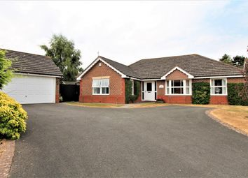 Thumbnail 3 bed bungalow for sale in Goddard Close, Bushby, Leicester