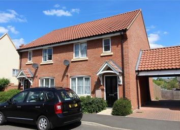 Thumbnail 3 bed semi-detached house to rent in Tudor Close, Haverhill, Suffolk