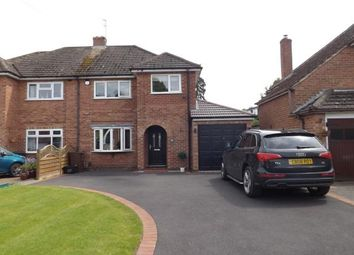 Thumbnail 3 bed semi-detached house for sale in Neville Road, Shirley, Solihull, West Midlands