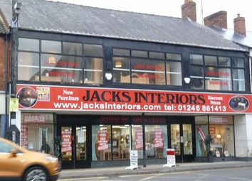 Thumbnail Commercial property to let in Jacks Interiors, 79-83, High Street, Clay Cross, Chesterfield