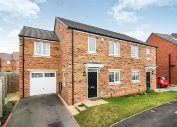 Thumbnail 3 bed semi-detached house for sale in Mulberry Avenue, Beverley