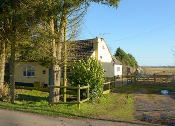 Thumbnail 3 bed bungalow for sale in The Drove, Barroway Drove, Downham Market