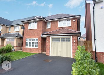 Thumbnail 4 bed detached house for sale in Dowley Gap Road, Worsley, Manchester