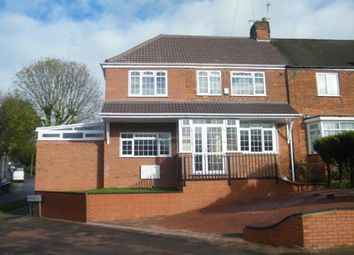 Thumbnail 5 bedroom end terrace house for sale in Dyas Avenue, Birmingham, West Midlands