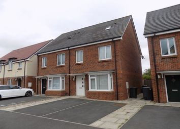 Thumbnail 3 bed semi-detached house to rent in Sorrel Close, Darlington
