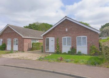 Thumbnail 3 bedroom detached bungalow for sale in Bickley Close, Attleborough