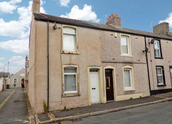 Thumbnail 2 bed end terrace house for sale in 2 Beach Street, Workington, Cumbria