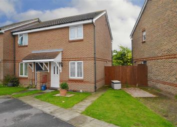 Thumbnail 2 bedroom end terrace house for sale in Milbanke Close, Shoeburyness, Southend-On-Sea