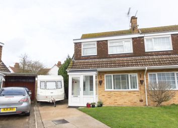 Thumbnail 3 bed semi-detached house for sale in The Maples, Broadstairs