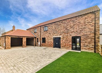 Thumbnail 4 bed detached house for sale in North View Farm, Middle Rasen, Market Rasen