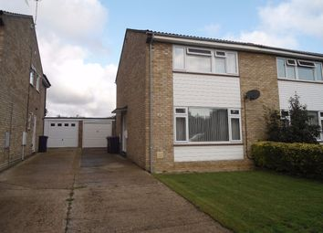 Thumbnail 3 bed semi-detached house to rent in Witter Avenue, Ickleford, Hitchin