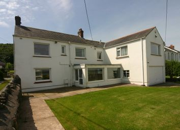Thumbnail 4 bed detached house for sale in West End, Penclawdd, Swansea