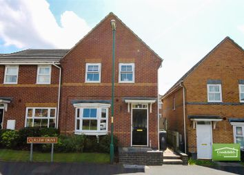 Thumbnail 3 bed town house for sale in Curlew Drive, Brownhills