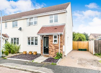 Thumbnail Semi-detached house for sale in Attwood Close, Highwoods, Colchester