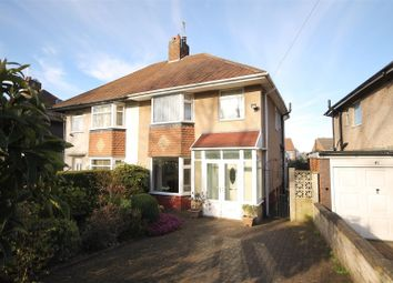Thumbnail 3 bed semi-detached house for sale in Hawksley Avenue, Newbold, Chesterfield