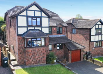Thumbnail 4 bed detached house for sale in Humber Lane, Kingsteignton, Newton Abbot