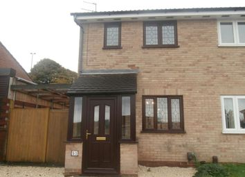 Thumbnail 2 bed semi-detached house to rent in Ploughmans Drive, Shepshed, Loughborough