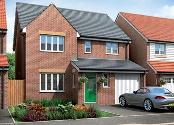 Thumbnail 4 bedroom detached house for sale in The Lingfield, Eastrea Road, Whittlesey, Peterborough