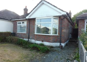 Thumbnail 2 bed detached bungalow for sale in Walliscott Road, Bournemouth