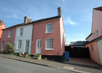 Thumbnail 2 bed end terrace house for sale in Shilling Street, Lavenham, Sudbury