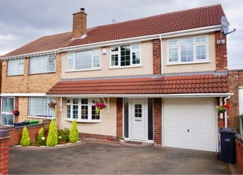 Thumbnail 4 bedroom semi-detached house for sale in Redwood Avenue, Dudley
