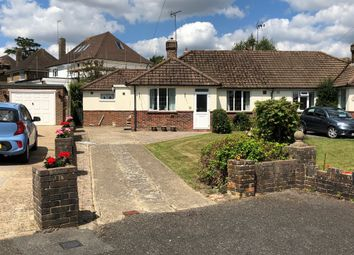 Thumbnail 3 bed semi-detached bungalow for sale in Lynton Close, Hurstpierpoint, Hassocks