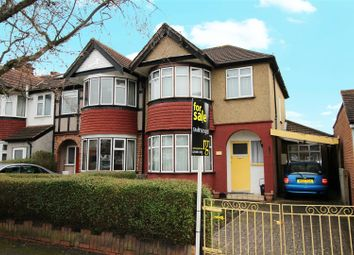 Thumbnail 3 bed semi-detached house for sale in Hartford Avenue, Harrow