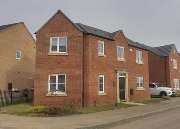 Thumbnail 3 bed detached house to rent in Ridge View, Houghton Conquest, Bedford