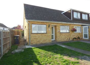 Thumbnail 3 bed semi-detached bungalow for sale in Mansfield Road, Hextable, Swanley