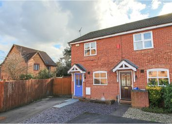 Thumbnail 2 bed end terrace house for sale in The Larches, Gloucester