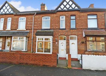 Thumbnail 2 bed terraced house for sale in Vincent Street, Crewe